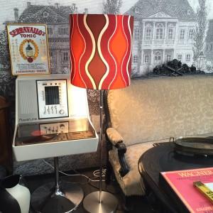 70er Design Stehlampe