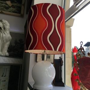 70er Designlampe